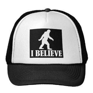 Bigfoot I Believe Hats