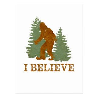 Bigfoot I believe Postcard