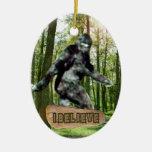 Bigfoot I cree el ornamento Adornos De Navidad
