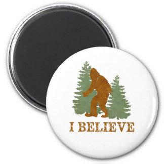 Bigfoot I cree Imán Redondo 5 Cm