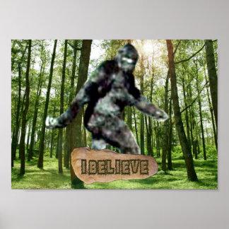 Bigfoot I cree la impresión Impresiones