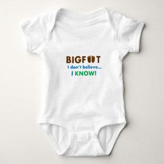 ¡Bigfoot I no cree que SÉ! Poleras