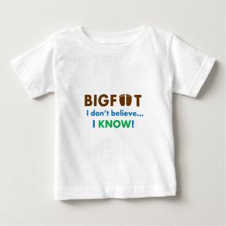 ¡Bigfoot I no cree que SÉ! Remeras