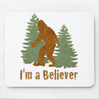 Bigfoot - I'm a Believer Mouse Pad