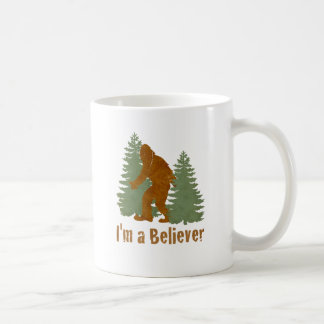 Bigfoot - I'm a Believer Classic White Coffee Mug