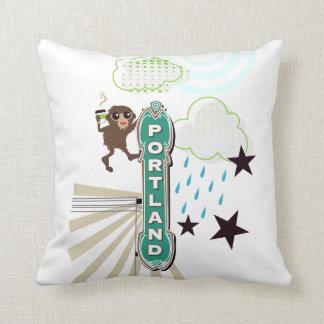 Bigfoot in Portland Pillow