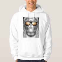 Bigfoot In Shades Hoodie