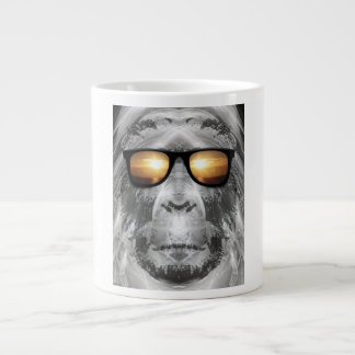 Bigfoot In Shades Jumbo Mugs
