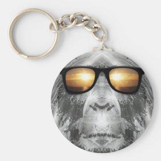 Bigfoot In Shades Keychain