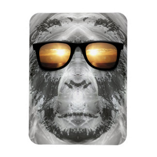 Bigfoot In Shades Magnet
