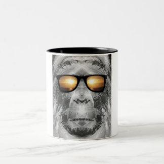 Bigfoot In Shades Mugs