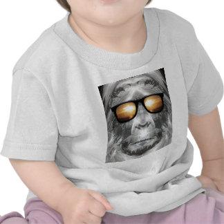 Bigfoot In Shades Tee Shirts