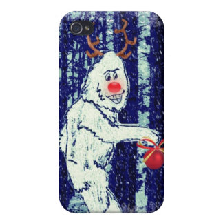 Bigfoot in the Forest iPhone 4 Cover