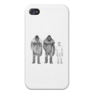 Bigfoot is Big Compared to Man Cases For iPhone 4