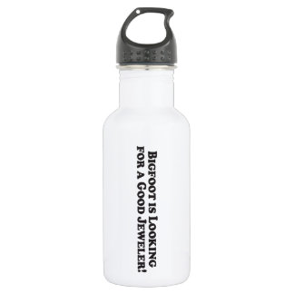 Bigfoot is Looking For a Good Jeweler - Basic Water Bottle
