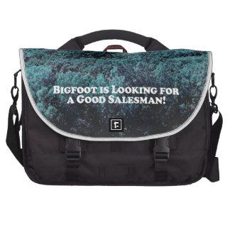 Bigfoot is Looking For a Good Salesman - Basic Computer Bag