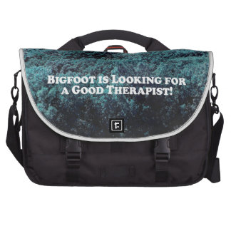 Bigfoot is Looking for a Good Therapist - Basic Commuter Bags