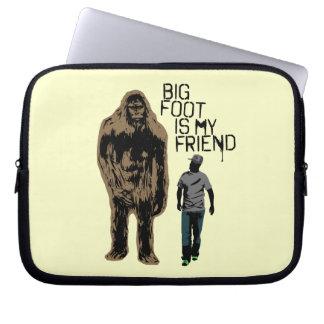Bigfoot Is My Friend Computer Sleeve