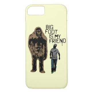 Bigfoot Is My Friend iPhone 7 Case