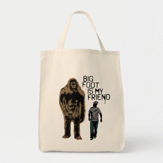 Bigfoot Is My Friend Tote Bag