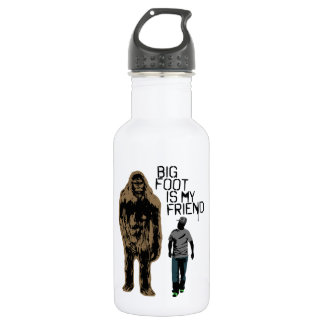 Bigfoot Is My Friend Water Bottle