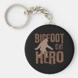 Bigfoot is my Hero Key Chains