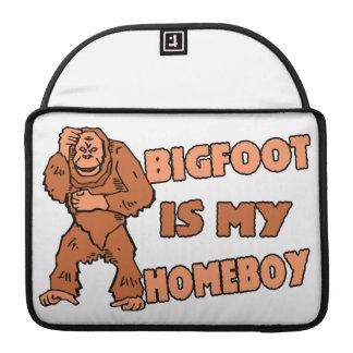 Bigfoot Is My Homeboy MacBook Pro Sleeves
