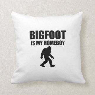 Bigfoot Is My Homeboy Pillows