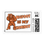 Bigfoot Is My Homeboy Postage Stamps
