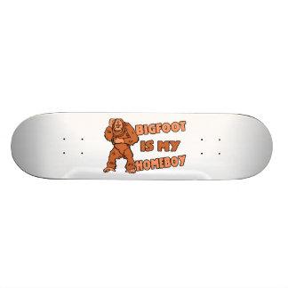Bigfoot Is My Homeboy Custom Skateboard