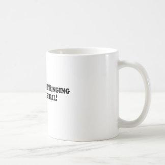 Bigfoot is NOT Ringing Your Doorbell - Basic Coffee Mug