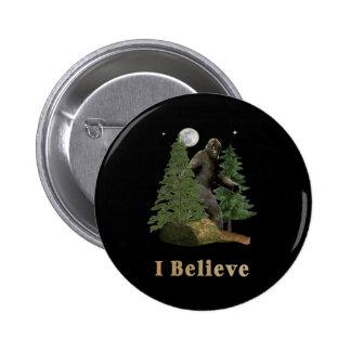 Bigfoot items pinback button