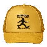 Bigfoot Jogging Society Cap Mesh Hats