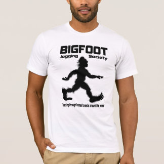 Bigfoot Jogging Society T-shirt