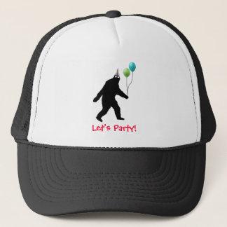 Bigfoot Let's Party Trucker Hat