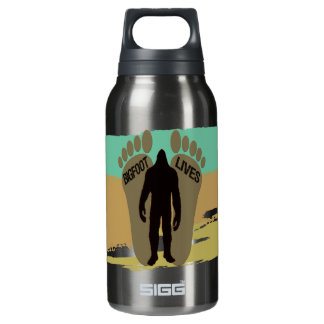 Bigfoot Lives Insulated Water Bottle