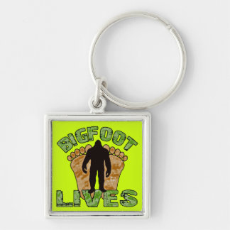 Bigfoot Lives Keychain