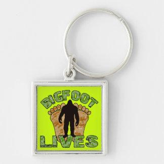 Bigfoot Lives Keychain
