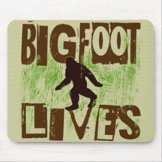 Bigfoot Lives Mouse Pad