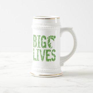 Bigfoot Lives Coffee Mugs