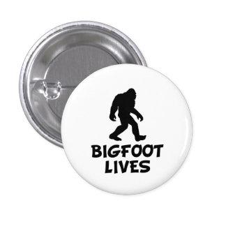 Bigfoot Lives Pinback Button