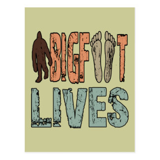 Bigfoot Lives Post Cards
