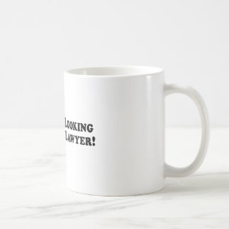 Bigfoot Looking for Good Lawyer - Basic Coffee Mug
