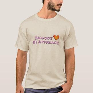 Bigfoot Loves My Approach - Basic T-Shirt