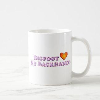 Bigfoot Loves My Backhand - Basic Mugs