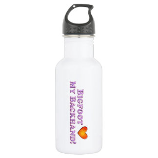 Bigfoot Loves My Backhand - Basic Stainless Steel Water Bottle
