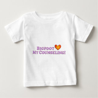 Bigfoot Loves My Counseling - Basic Baby T-Shirt