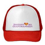 Bigfoot Loves My Craftsmanship - Basic Mesh Hat