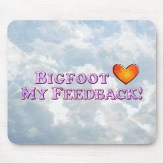 Bigfoot Loves My Feedback - Basic Mousepad