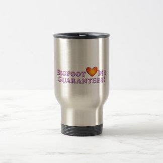 Bigfoot Loves My Guarantees - Basic 15 Oz Stainless Steel Travel Mug
